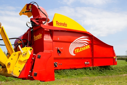 Teagle Telehawk Straw Bedder for sale at Agriplus Ltd, North Yorkshire