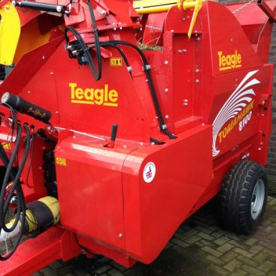 Teagle Tomahawk 8100 Straw Shredder Bedder for sale at Agriplus Ltd, North Yorkshire
