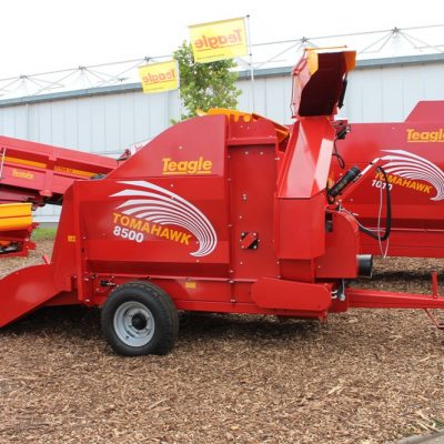 Teagle Tomahawk 8500 SC Straw Shredder for sale at Agriplus Ltd, North Yorkshire