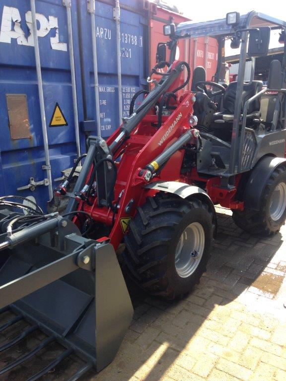 Weidemann Hoftrac Compact Farm Loader for sale at Agriplus Ltd, North Yorkshire
