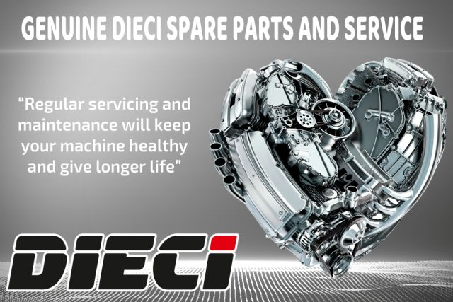 Dieci Telehandler Parts and Service now available!