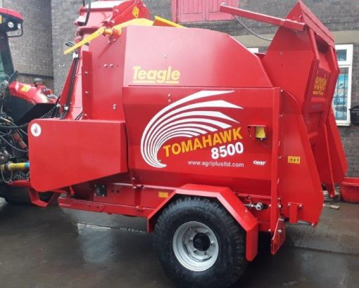 Teagle Tomahawk 8500 SC Straw Shredder