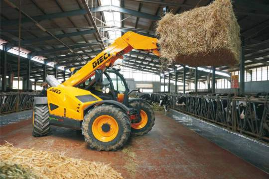 Dieci Telehandler new sales from Agriplus Ltd, Stokesley, North Yorkshire