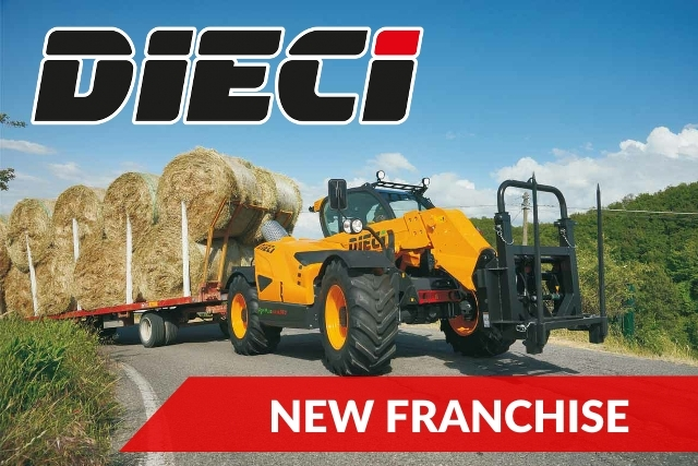 New Sales Franchise – Dieci Telehandlers