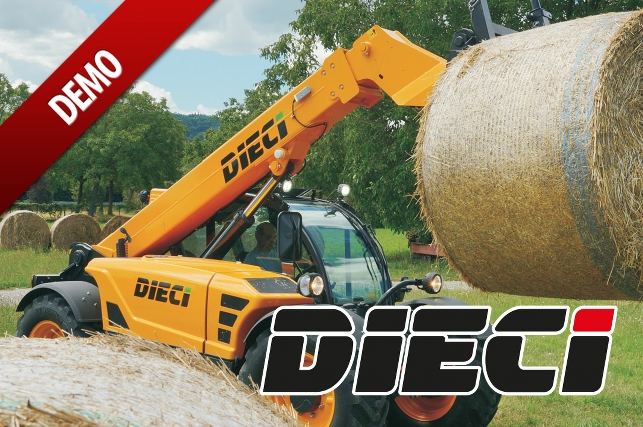 Dieci Agri Farmer 32.6 Telehandler Available for Demonstration