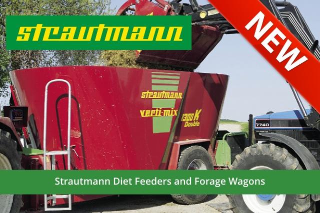 Strautmann Diet Feeders and Forage Wagons