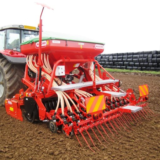 Maschio 3mtr Power Harrow Drill Combination for Sale